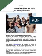 Projet Croix Des Bouquets (Fred Mogin Et Leve Ayiti)