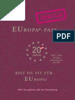Edpol 2015 EUropa Pass JUNIOR 23.10.