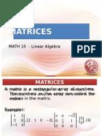 Matrices Math15-1
