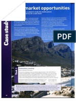 Case Study About new market opportunities