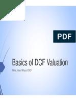 Basics of DCF Valuation