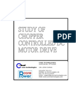 Chopper Controlled DC Motor Drive