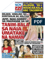 Pinoy Parazzi Vol 8 Issue 130 October 28 - 29, 2015