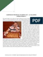 Campeonato Provincial de Ajedrez La Vila 2015 Ronda 3