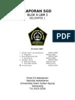 Laporan Sgd Blok 9 Lbm 3 Kel. 01