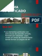 Modelacion estructural(porticos)