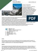 Le Glacier D'Argentiere