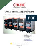 Cazan Irleh Sm - Manual Cu Formular de Pif Si Vtp