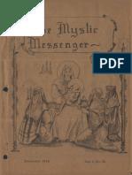 The Mystic Messenger, December 1936