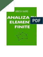 04 M Rades - Analiza Cu Elemente Finite