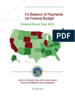 DiNapoli Fed Budget Fy2013 Report