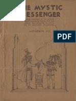 The Mystic Messenger, September 1937