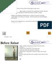 Prayer [Sala't] Manual PPT - With Audio