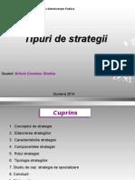 Tipuri de Strategii
