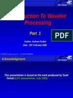 Intro Wavelet Processing 1