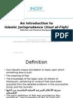 Introduction to Islamic Jurisprudence
