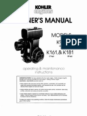 Kohler K91 Engine Schematics | Wiring Diagram