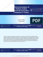 A Financial Analysis of Publicly Traded Electricity Generation Companies in Turkey