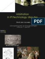 arbitrationinipandtechnologydisputes-140523093921-phpapp02