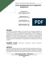 Competencias Profecionales Ing. Bioq