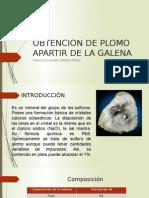 Obtencion de Plomo Apartir de La Galena Zepeda