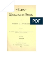 Some Mistakes of Mozes