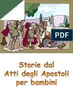 Storie Dal Atti Degli Apostoli Per Bambini