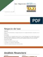 Resumen Negocio de Taxi