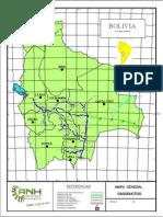 Mapa General de Gasoductos