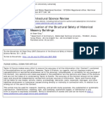 ASR - Evaluation of the Structural Safety of Historic Masonry Bldgs