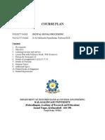 DSP Courseplan