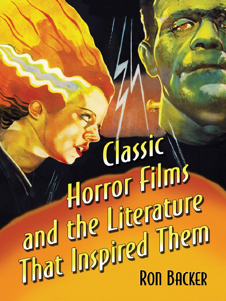 classic horror films and the literature that inspired them 2015