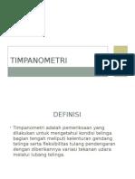 TIMPANOMETRI (Kuliah Oto Sheba)