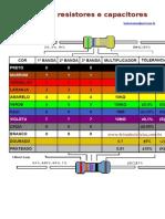 Código de Resistores e Capacitores