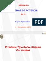 Clase N° 09 y 10 - ML511 - 14 y 16 de setiembre de 2015 - Seminario