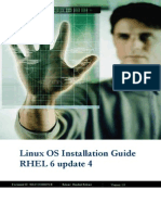 Linux OS Installation Guide RHEL 6 Update 4