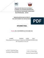 Informe Final Malacatancito - Alejandra Pinto - Trabajo Social