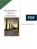Procedimientos y Formatos Interventoria