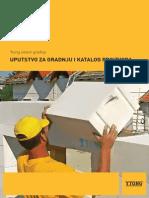 YTONG Uputstvo Za Gradnju i Katalog Proizvoda2015