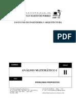 Analisis Matematico i Problemas Propuestos