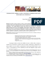 Integração Da AL - Um Estudo a Partir Da Educação Bolivariana