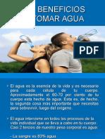 ppt el agua y sus beneficios