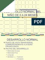 Desarrollo Normal Del Niño de 0 a 24