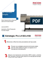 Ricoh Pro L4160 L4130 Sales Launch Presentation RLA v Final 27-06-2014 ES