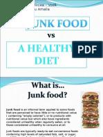 JunkFood vs HealthyDiet