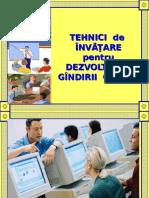 9 Tehnici de invatare (descriere).ppt