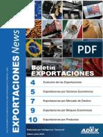 Boletin de Exportaciones Julio 2015