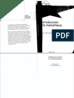 170287316 Introduccion a La Metafisica GRONDIN