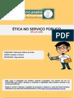 Etica no serviço publico