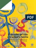 El Derecho del Niño y La Niña a La Familia